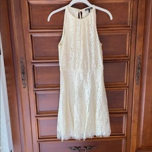 Juicy Couture cream lace dress , size 4, worn once